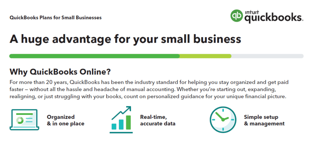 Bookkeeping with Quickbooks offers multiple advantages. our partnership allows you to get the most out of our services.